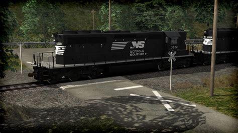 train simulator norfolk southern sd  high nose long