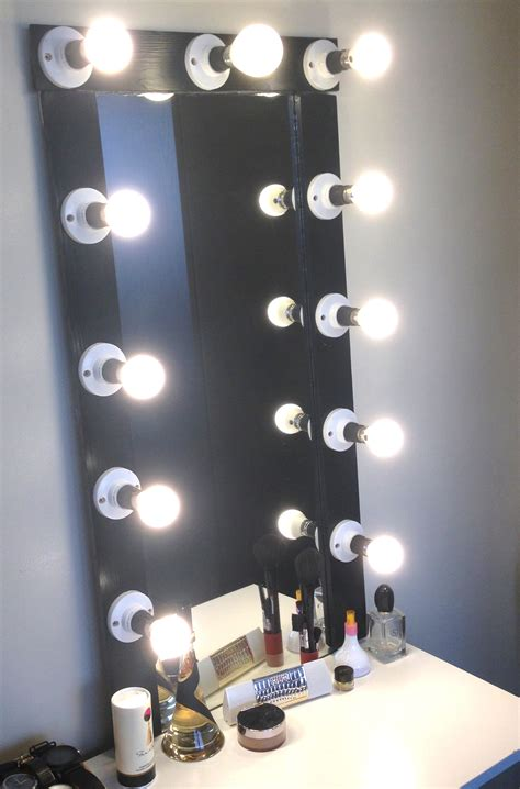 broadway lighted vanity mirror broadway vanity mirror with lights with curls