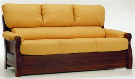 canapé bois exotique photos canapé en bois