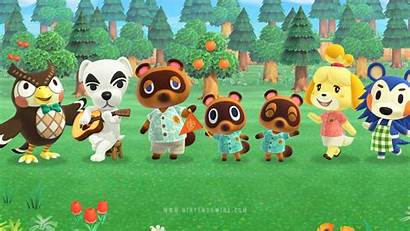 Crossing Animal Horizons Wallpapers Nintendo Characters Added