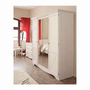 Armoire Chambre Blanche : armoire blanche chambre armoire blanche 2 portes pas cher cityparkevents ~ Teatrodelosmanantiales.com Idées de Décoration