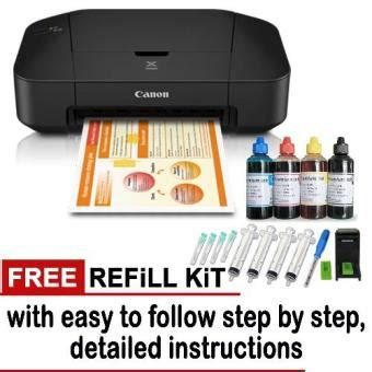 canon pixma ip2870s color inkjet printer with free 1 refill kit lazada ph