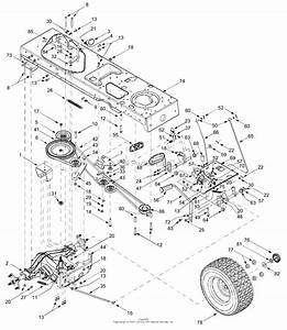 Mtd 14ag808h163  2003  Parts Diagram For Drive  Controls