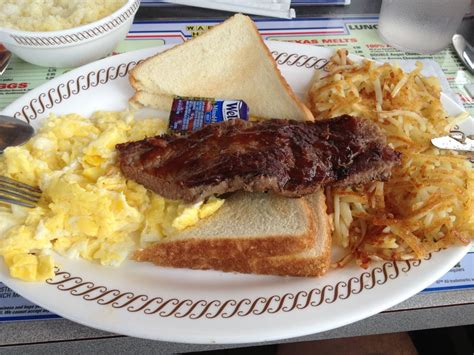 waffle house steak steak eggs hash browns and toast yelp