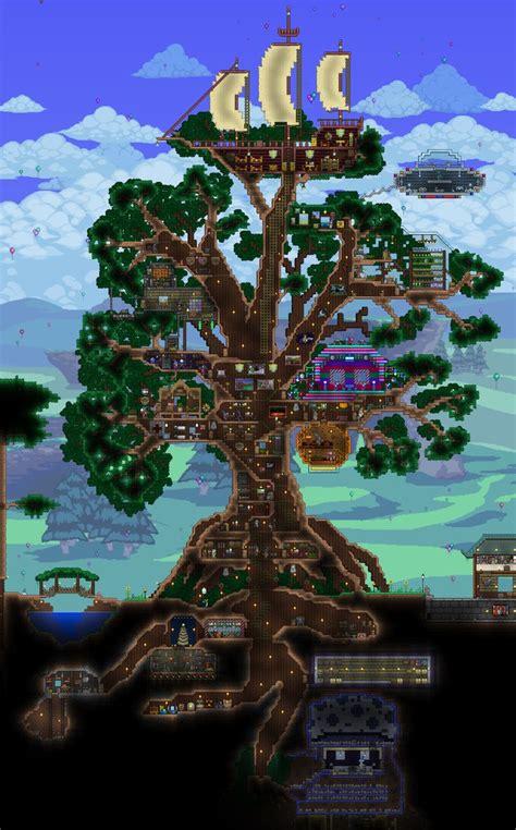 giant living treehouse terrarium base terraria house ideas terrarium