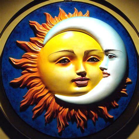 Sun and Moon | Sun art, Moon art, Celestial art