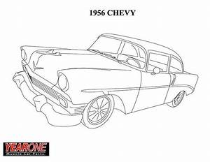 57 chevy coloring pages coloring pages With 1955 chevy bel air