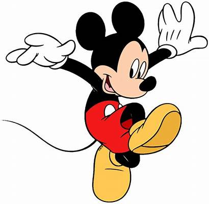 Clipart Mickey Disney Mouse Clip Jumping Down