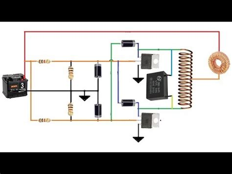 how to make induction heater at home youtube