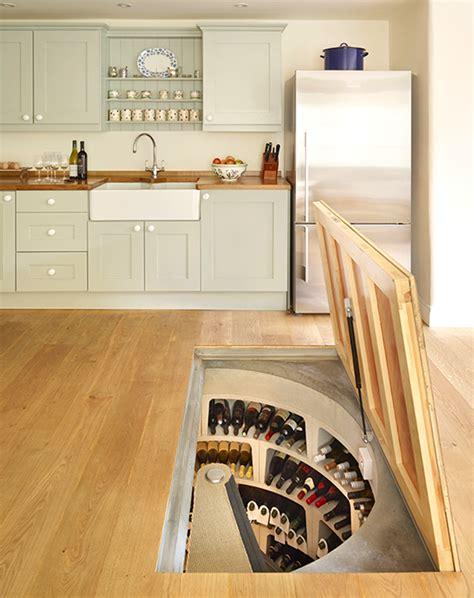 strangely satisfying hidden kitchen compartments