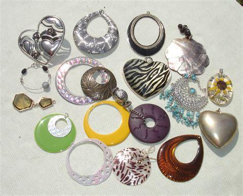 Destash Charms Jewelry Making Supplies 18 Pcs