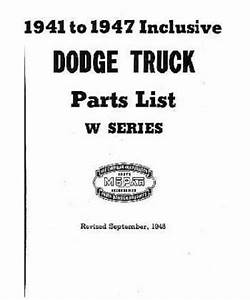 1947 Dodge Truck Wiring : 1941 47 dodge truck body chassis text illustration ~ A.2002-acura-tl-radio.info Haus und Dekorationen