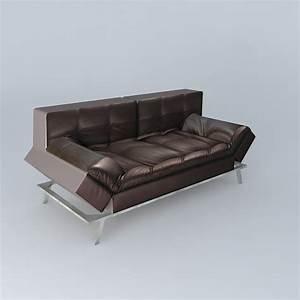Sofas Maison Du Monde : sofa brown denver maisons du monde 3d model cgtrader ~ Watch28wear.com Haus und Dekorationen