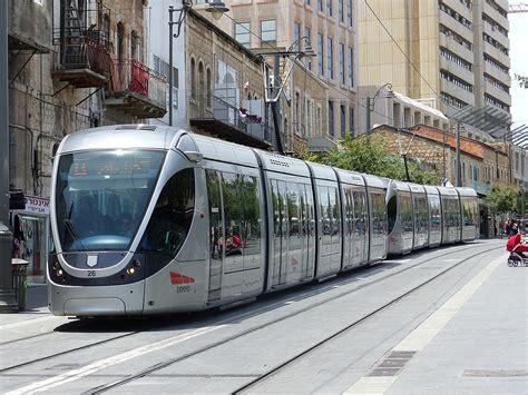 Light Rail by Jerusalem Light Rail