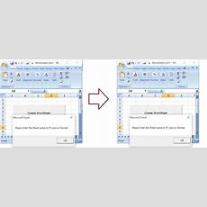 Vbaexcel Create Worksheets With Names In Specific Formatpattern Excelmacro