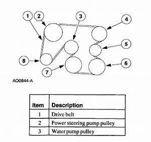 Need Diagram For Serpentine Belt Install On Ford Windstar 2000
