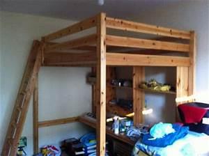 Ikea Stora Hochbett : ikea hochbett stora aus kiefer inkl schreibtisch kassel 10505552 ~ Orissabook.com Haus und Dekorationen