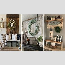 Diy Farmhouse Style Shelving And Wall Decor Ideas Home