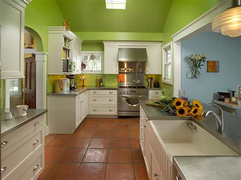 lime green wallpaper for kitchens photos hgtv 9037