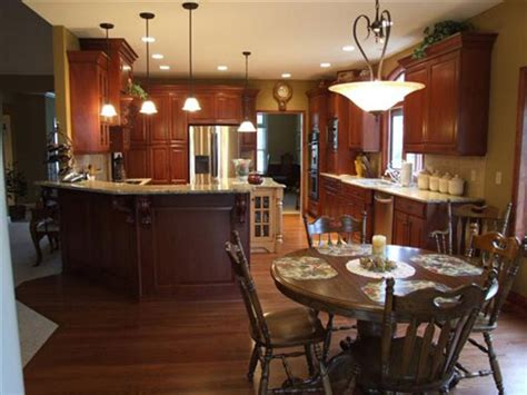 kitchen paint colors with cherry cabinets what color to paint your kitchen interior decorating