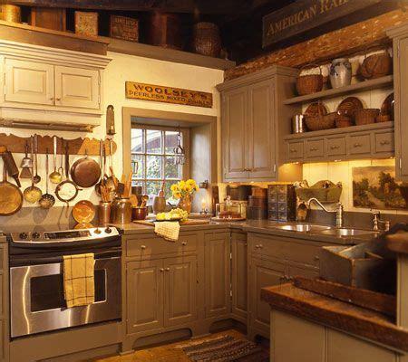 primitive kitchens images  pinterest kitchens
