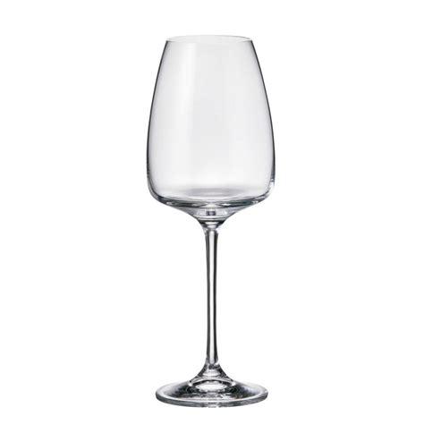bicchieri cristallo di boemia prezzi set 6 bicchieri bianco alizee in cristallo bohemia