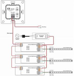 Rgbw Group U0026scene Control Push Button Dali Dt8 Panel Sr