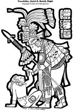 Dresden Codex (Book of The Maya) | Mayan glyphs, South
