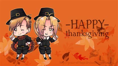 Anime Thanksgiving Wallpaper - propeller anime happy thanksgiving from propeller anime