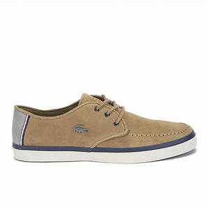 Lacoste Men's Sevrin 7 Suede Lace Up Shoes - Light Brown ...