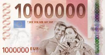 originelles hochzeitsgeschenk geld idee für ein geldgeschenk zur hochzeit der 1mio euroschein als wandbild günstig portrait