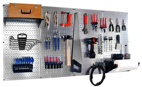 Storage Pegboard by Pro Grade Pegboard Organizer Professional Peg Board Tool