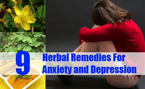herbal remedies  anxiety depression   treat