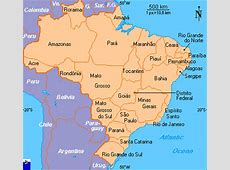 Clickable map of Brazil