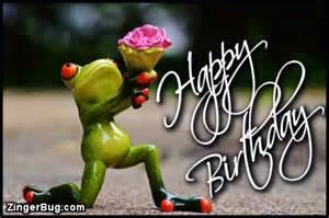 Frog Happy Birthday Meme