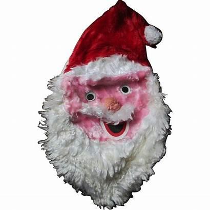 Santa Creepy Claus Bag Head Pajama Ruby