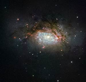 Space: NASA Photo Shows Two Galaxies Colliding