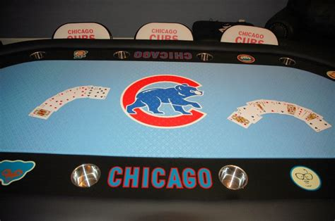 chicago cubs table l pin by david blomberg on poker pinterest