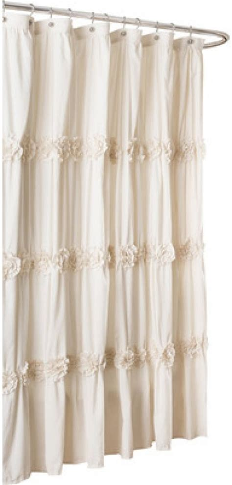 country shower curtains one allium way lingle shower curtain country bath
