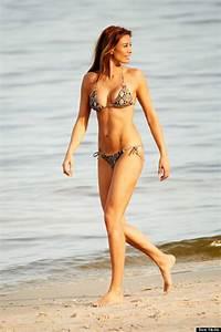 Melanie Sykes Strips To Her Bikini On Sunshine Break Ahead ...