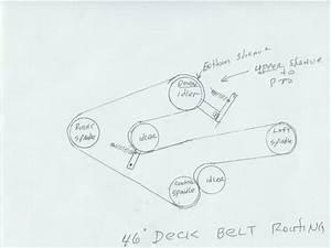 Cub Cadet 1515 Belt Diagram