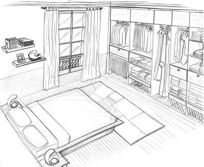croquis chambre a coucher comment dessiner une chambre pourquoi comment les