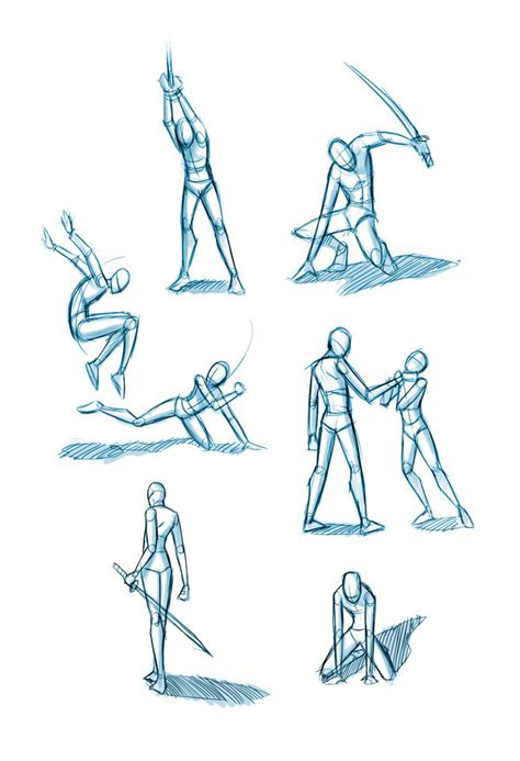 Images Of Anime Dual Sword Fighting Poses Golfclub