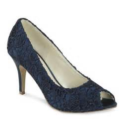 navy wedding shoes pink paradox cosmos navy blue lace shoes wedding shoes bridal accessories