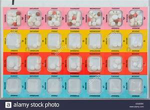medicine manager colour coded blister pack with seven days With blister pack medication