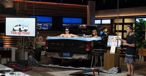 Truck Bed Pool Liner by Shark Tank Cuban Invests In Up Pools Turns