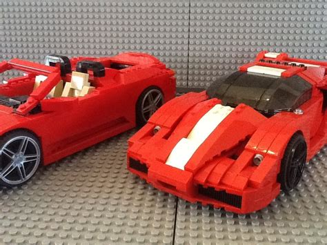 lego enzo lego racer enzo and f 430 spider set 8652 8671 1