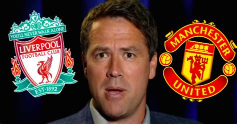 Michael Owen's Combined Man United - Liverpool XI Might ...