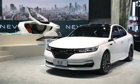 NEVS reveals Chinese electric cars based on former Saab 9 ...
