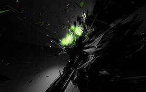 Dark, Explode, Abstract, Wallpapers